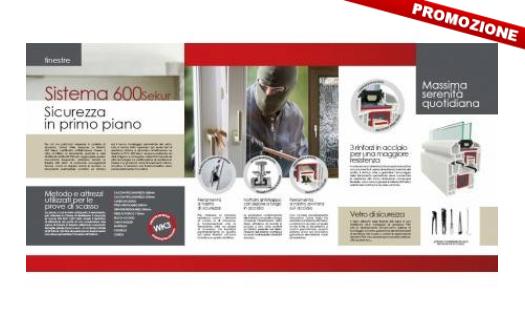 Finestre blindate in pvc sistema 600 sekur roma